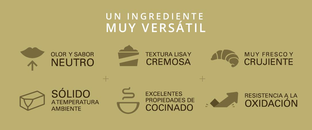 ingrediente versátil